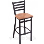 Bar Stool with Metal Frame #2