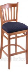 Bar Stool with Wood Frame #7