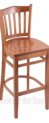 Bar Stool with Wood Frame #8