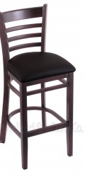 Bar Stool with Wood Frame #11