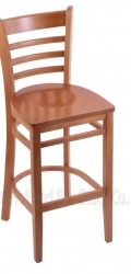 Bar Stool with Wood Frame #12