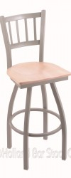 Bar Stool with Metal Frame #10