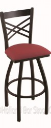 Bar Stool with Metal Frame #1