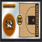 Basketball Mirror with Logo #3
