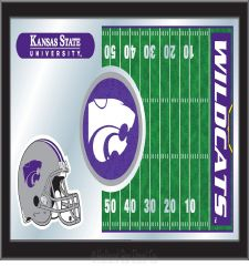Football Mirror with Logo #1