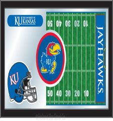 Football Mirror with Logo #2