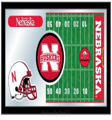Football Mirror with Logo #4