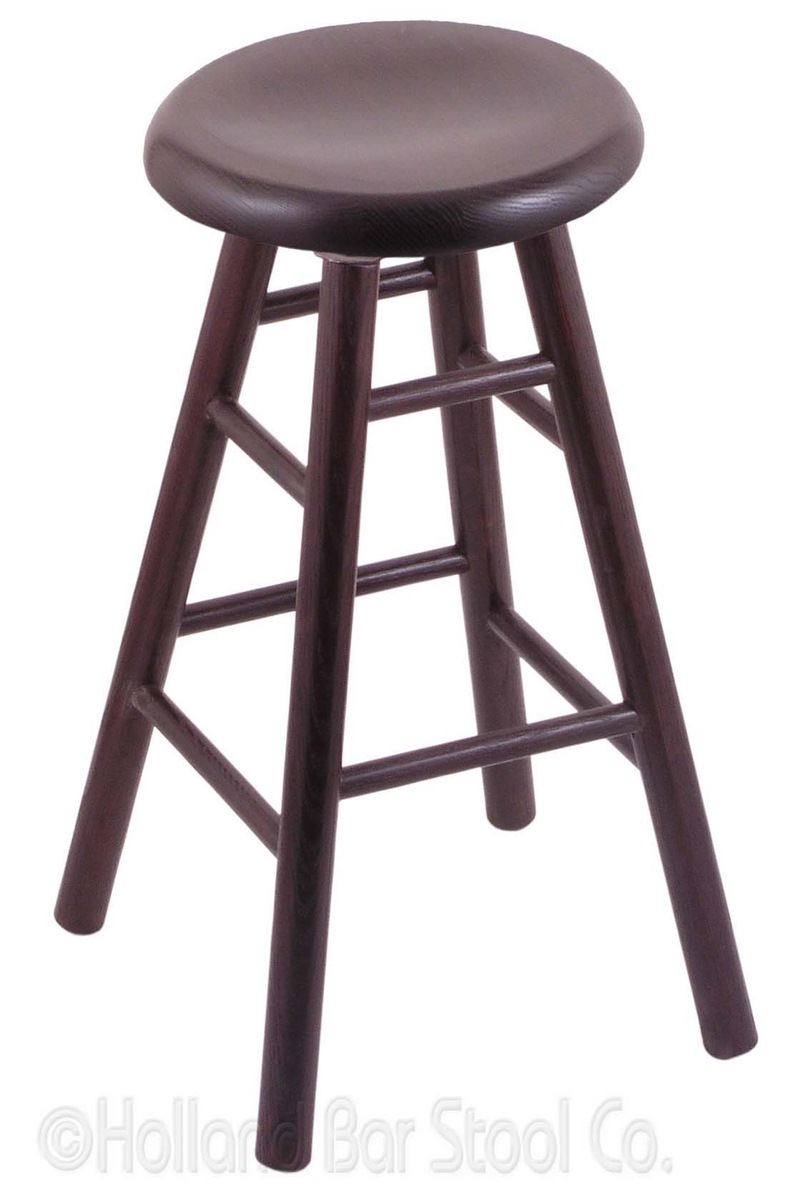 Bar Stool with Wood Frame #15